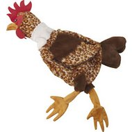 Ethical Pet Skinneeez Barnyard Series Chicken Stuffingless Dog Toy