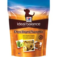 Hill's Ideal Balance Oven-Baked Naturals with Chicken & Apples Dog Treats, 8-oz bag