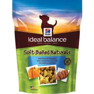 Hill's Ideal Balance Soft-Baked Naturals with Duck & Pumpkin Dog Treats, 8-oz bag