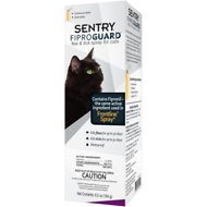 Sentry FiproGuard Flea & Tick Cat Spray, 6.5-oz bottle