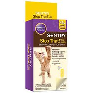 Sentry Stop That! Noise & Pheromone Cat Spray, 1-oz bottle
