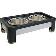 Our Pet's Signature Series Designer Diner Elevated Pet Bowls, 4-inch