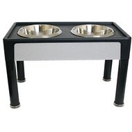 Our Pet's Signature Series Designer Diner Elevated Pet Bowls, 14-inch