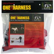 Ultra Paws One Adjustable Pulling Dog Harness, Small