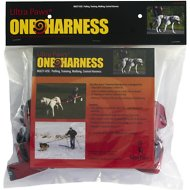 Ultra Paws One Adjustable Pulling Dog Harness, Large