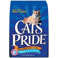 Cat's Pride Premium Fresh & Clean Clay Cat Litter, 20-lb bag