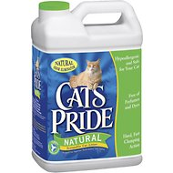 Cat's Pride Premium Natural Scoopable Cat Litter, 20-lb jug