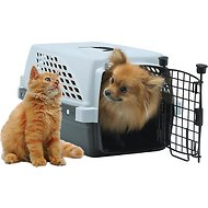 Firstrax Noz2Noz Pet Suite Single Door Plastic Kennel, 23-inch