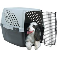 Firstrax Noz2Noz Pet Suite Single Door Plastic Kennel, 32-inch