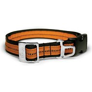 Kurgo Wander Nylon Dog Collar with Bottle Opener, Black, Large