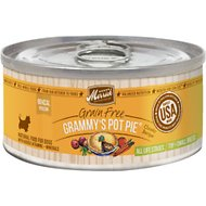Merrick Classic Grain-Free Grammy's Pot Pie Toy & Small Breed Recipe Canned Dog Food, 3.2-oz, case of 24