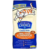 Premium Choice Carefree Kitty Dual Odor Eliminator Cat Litter, 25-lb bag