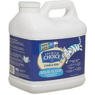 Premium Choice Carefree Kitty Unscented Solid Scoop Cat Litter, 16-lb
