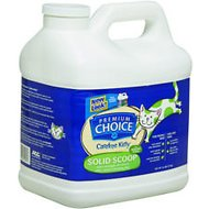 Premium Choice Carefree Kitty Unscented Extra Strength with Baking Soda Solid Scoop Cat Litter, 16-lb