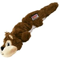 KONG Scrunch Knots Squirrel Dog Toy, Medium/Large