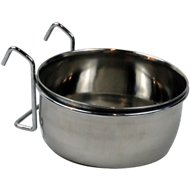 Bergan Stainless Steel Kennel Pet Bowl, 1 cup