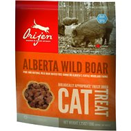 Orijen Alberta Wild Boar Freeze-Dried Cat Treats, 1.25-oz bag