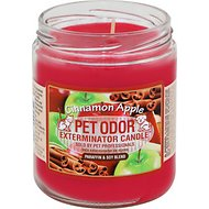 Pet Odor Exterminator Cinnamon Apple Deodorizing Candle, 13-oz jar
