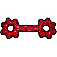 Tuffy's Ultimate Tug-O-Gear Dog Toy, Red Paws
