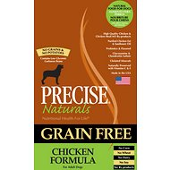 Precise Naturals Grain-Free Chicken Formula Adult Dry Dog Food, 28-lb bag