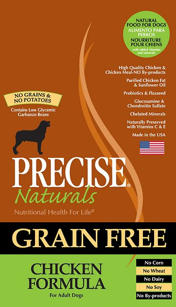 Precise Naturals Grain Free Dog Food