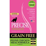 Precise Naturals Grain-Free Feline Chicken Meal Formula Adult Dry Cat Food, 6-lb bag