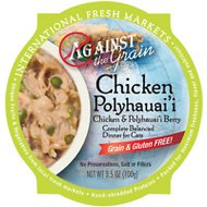 Against the Grain Chicken & Polyhauai'i Berry Dinner Grain-Free Wet Cat Food, 3.5-oz, case of 12