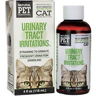 Tomlyn Natural Pet Pharmaceuticals Urinary Tract Irritations Homeopathic Cat Supplement, 4-oz bottle