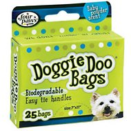 Four Paws Doggie Doo Bags, 25 count