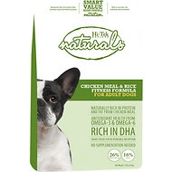 Hi-Tek Naturals Chicken Meal & Rice Fitness Formula Adult Dry Dog Food, 15-lb bag
