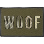 PetRageous Designs WOOF Tapestry Placemat