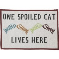 PetRageous Designs One Spoiled Cat Tapestry Placemat