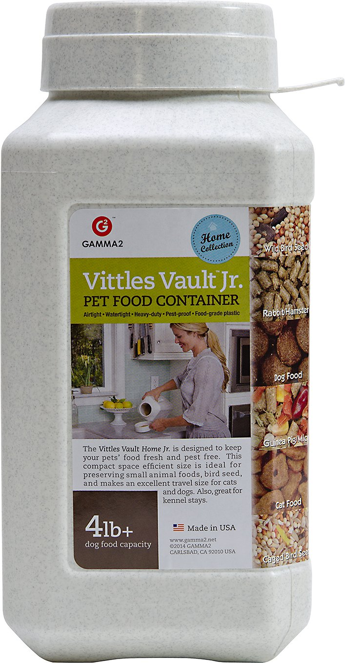 Gamma2 Vittles Vault Junior Pet Food Storage 4 6 Lb Chewy Com