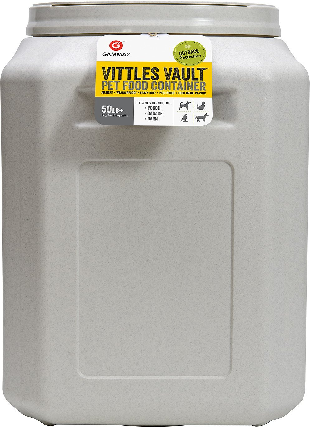 gamma2 vittles vault pet food storage - Dog Food Containers