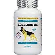 Nutramax Cosequin Maximum Strength (DS) Capsules Joint Health Dog Supplement, 132 count