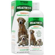 Nutramax Welactin Canine Omega-3 Liquid Dog Supplement, 16-oz bottle