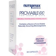 Nutramax Proviable-DC Capsules Dog & Cat Supplement, 80 count