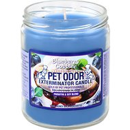 Pet Odor Exterminator Blueberry Cobbler Deodorizing Candle, 13-oz jar