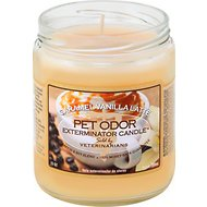 Pet Odor Exterminator Caramel Vanilla Latte Deodorizing Candle, 13-oz jar