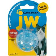 JW Pet Cataction Lattice Ball Cat Toy
