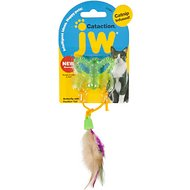 JW Pet Cataction Butterfly with Feather Tail Cat Toy