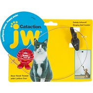 JW Pet Cataction Door Knob Teaser with Lattice Cuz Cat Toy