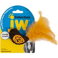 JW Pet Cataction Bird with Catnip Cat Toy
