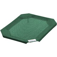 Coolaroo Replacement Cover for Steel-Framed Elevated Pet Bed, Brunswick Green, Small