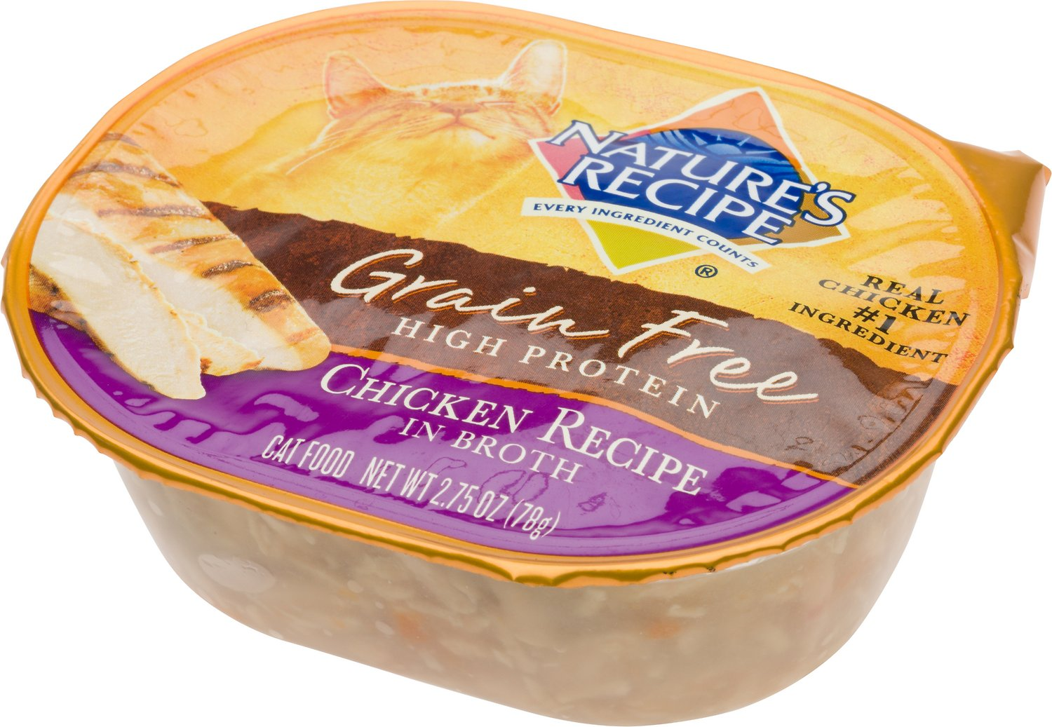 Natures recipe grain free chicken recipe in broth wet cat food video forumfinder Choice Image