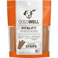 Dogswell Vitality Chicken Strips Dog Treats, 5-oz bag