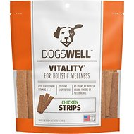 Dogswell Vitality Chicken Strips Dog Treats, 12-oz bag