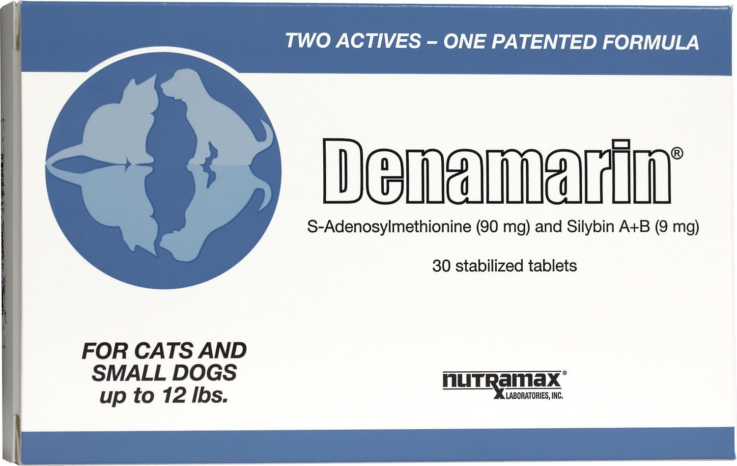 Nutramax Denamarin Tablets For Cats Amp Small Dogs 30 Count