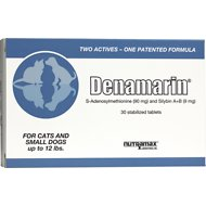 Nutramax Denamarin Tablets for Cats & Small Dogs, 30 count