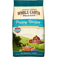 Whole Earth Farms Puppy Recipe Dry Dog Food, 30-lb bag